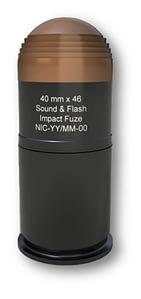 40 mm x 46 Sound & Flash Impact Fuze