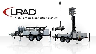 LRAD 360X Trailer