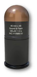 40 mm x 46 Sound & Flash Delay 1.3 s