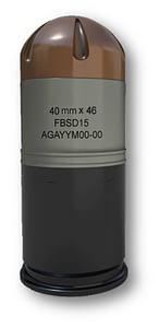 40 mm x 46 Sound & Flash Impact Fuze Self Destruct
